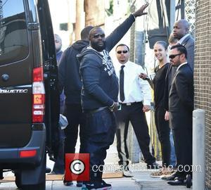 Rick Ross - Cebrities at the ABC studios for their taping for late-night talk show 'Jimmy Kimmel Live!' at Jimmy...