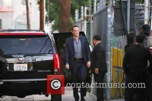 Vince Vaughn - Cebrities at the ABC studios for their taping for late-night talk show 'Jimmy Kimmel Live!' at Jimmy...