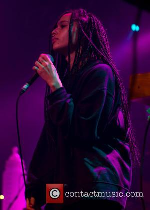 Zoe Kravitz - Lolawolf performing live on stage at O2 Academy Birmingham - Birmingham, United Kingdom - Wednesday 26th November...