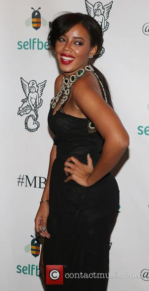 Angela Simmons - Shots from the 2014 Millennial Ball 3.0 which supports Gabrielle's Angel Foundation for Cancer Research, the event...
