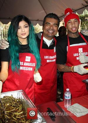 Kylie Jenner, George Lopez and Tyga