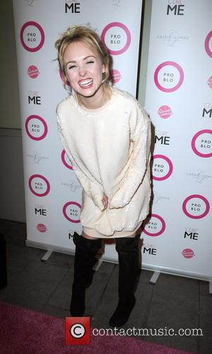 Jorgie Porter - Photo's from the Pro Blo VIP launch party as a variety of stars arrived at the Neighbourhood...