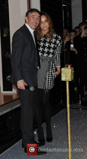 Steve Coogan and stella McCartney - A variety of stars were snapped at the Christmas lights switch on at the...