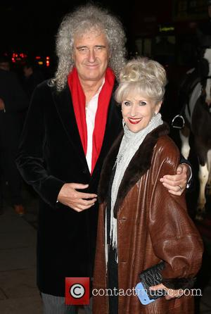 Brian May and Anita Dobson - A host of celebrities were photographed as they arrived at the RSPCA Animal Hero...