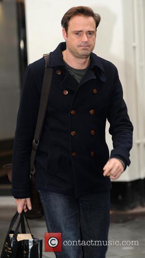 Jamie Theakston - Jamie Theakston leaves the Global Building - London, United Kingdom - Wednesday 26th November 2014