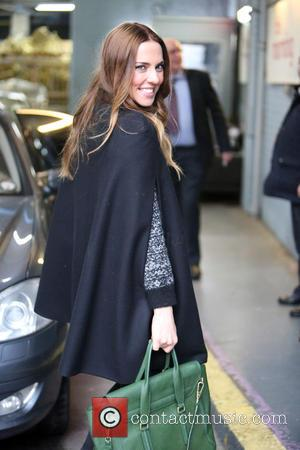 Melanie Chisholm and Mel C - Mel C outside the ITV Studios - London, United Kingdom - Wednesday 26th November...