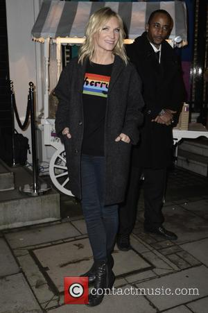 Jo Whiley - A variety of stars were snapped at the Christmas lights switch on at the Stella McCartney Bruton...