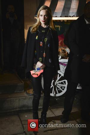 Poppy Delevingne - A variety of stars were snapped at the Christmas lights switch on at the Stella McCartney Bruton...