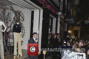 Steve Coogan - A variety of stars were snapped at the Christmas lights switch on at the Stella McCartney Bruton...