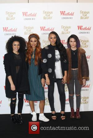 Neon Jungle - Naomi Campbell launches Fashion For Relief Pop-Up at Westfield - Arrivals - London, United Kingdom - Thursday...