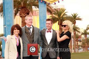 Chrissie Hynde, Dan Matthews, Jack Ryan and Pamela Anderson - Pamela Anderson and Chrissie Hynde give away Peta Leader at...