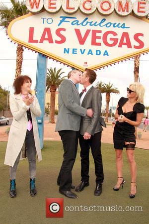 Chrissie Hynde, Dan Matthews, Jack Ryan and Pamela Anderson