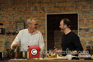 Larrry Lamb and Glynn Purnell - BBC Food Show Winter 2014 at the NEC Birmingham at National Exhibition Centre -...