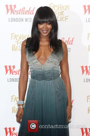 Naomi Campbell - Naomi Campbell launches Fashion For Relief Pop-Up at Westfield - Arrivals - London, United Kingdom - Thursday...