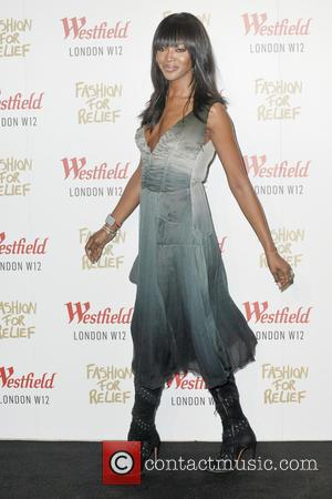 Naomi Campbell - Celebrity arrivals for Naomi Campbell's  launch of her pop-up store in London's Westfield shopping centre as...
