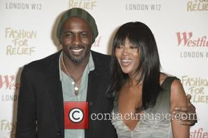 Idris Elba and Naomi Campbell - Celebrity arrivals for Naomi Campbell's  launch of her pop-up store in London's Westfield...