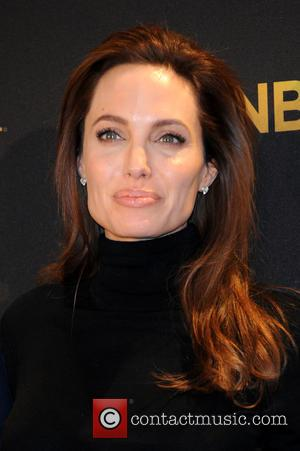 Angelina Jolie Gets Choked Up At Event Honouring 'Unbroken' Hero Louis Zamperini