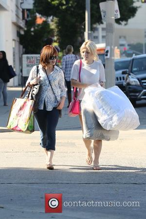 Francesca Eastwood and Frances Fisher - Francesca Eastwood and Frances Fisher go shopping together at West Elm in West Hollywood...