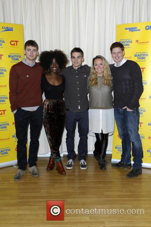 Thomas Law, Vanessa Babirye, Sam Jackson, Charlie Brooks and Gerard Mccarthy