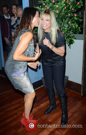Lizzie Cundy and Jo Wood - The Cuban Birthday Party at the Cuban Bar restaurant - London, United Kingdom -...