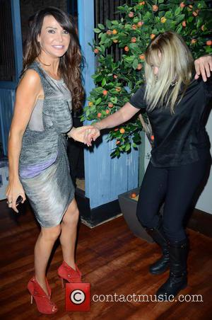 Lizzie Cundy and Jo Wood