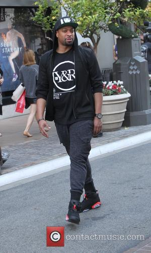 DeRay Davis - Comedian DeRay Davis walking at The Grove in Hollywood - Hollywood, California, United States - Friday 28th...