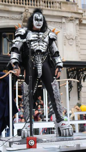 Gene Simmons and Kiss - 88th Annual Macy's Thanksgiving Day Parade at Macy's - New York, New York, United States...