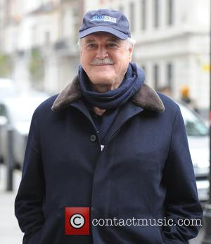 John Cleese - John Cleese pictured leaving BBC Radio 2 this afternoon - London, United Kingdom - Friday 28th November...