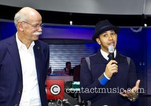 Dr. Dieter Zetsche and Lewis Hamilton