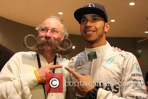 Lewis Hamilton and Juergen Burghardt