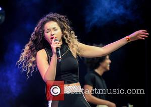 Photo's of English singer songwriter Ella Eyre as she performed live at the Free Radio Live concert which was held...