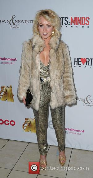 Jorgie Porter - Photographs from the Hearts & Minds Challenge Charity's Studio 54 Themed Ball which was attended by a...