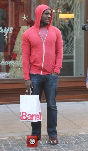 Chris Chalk - A variety of celebs were spotted as they went shopping at The Grove in Los Angeles, California,...