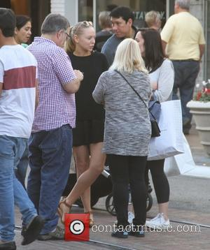 Portia Doubleday - A variety of celebs were spotted as they went shopping at The Grove in Los Angeles, California,...