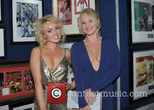 Jorgie Porter and Kirsty Leigh Porter - Hearts & Minds Challenge Charity Studio 54 Themed Ball at Piccadilly Mercure Hotel...