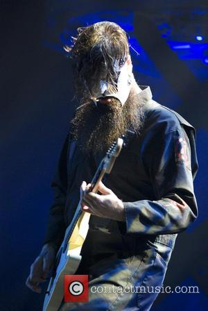 Slipknot and Jim Root - Shots of American heavy metal band Slipknot as they gave a live performance along with...