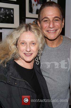 Carol Kane and Tony Danza - Celebrities backstage at 'Honeymoon In Vegas' at Nederlander Theatre, - New York, New York,...