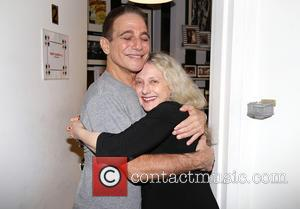 Tony Danza and Carol Kane - Celebrities backstage at 'Honeymoon In Vegas' at Nederlander Theatre, - New York, New York,...