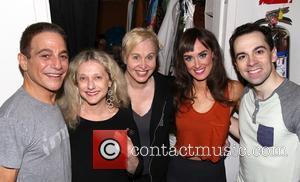 Tony Danza, Carol Kane, Nancy Opel, Brynn O'Malley and Rob McClure