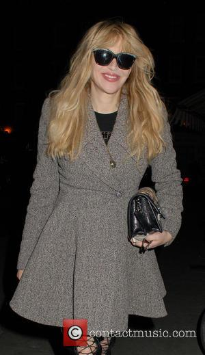 Courtney Love - Courtney Love at the Chiltern Firehouse - London, United Kingdom - Sunday 30th November 2014