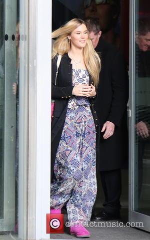 Joss Stone - Joss Stone seen leaving BBC Broadcasting House - London, United Kingdom - Sunday 30th November 2014