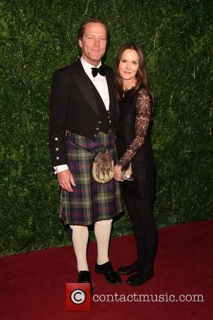 Iain Glen and Charlotte Emmerson - Shots of a host of stars as they took to the red carpet for...