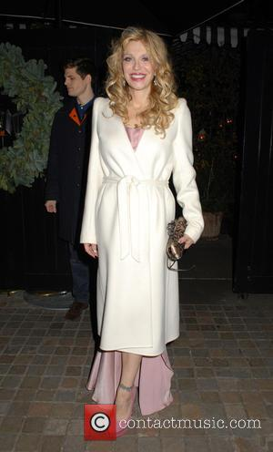 Courtney Love - A variety of celebs were photographs as they attended the Chiltern Firehouse restaurant in London, United Kingdom...