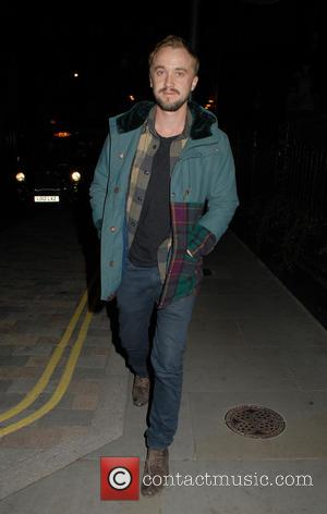 Tom Felton - A variety of celebs were photographs as they attended the Chiltern Firehouse restaurant in London, United Kingdom...