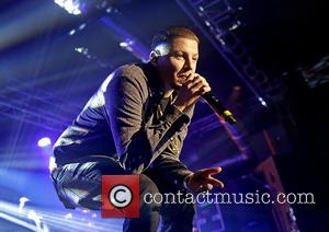 Shots of British rapper Professor Green as he performs live on stage at the O2 Academy in Liverpool, United Kingdom...