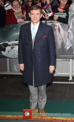 Martin Freeman - Shots from the World Premiere of 'The Hobbit: The Battle of the Five Armies' the final film...