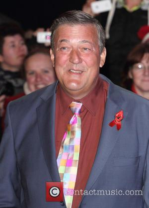 Stephen Fry - Shots from the World Premiere of 'The Hobbit: The Battle of the Five Armies' the final film...