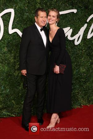Eva Herzigova and Mario Testino - Shots of a host of stars as they took to the red carpet for...