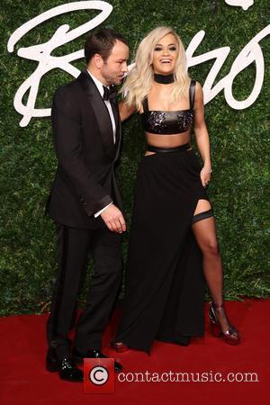 Tom Ford and Rita Ora