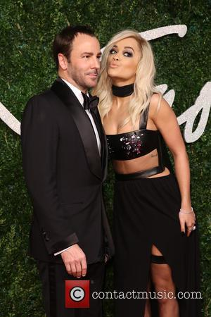 Tom Ford and Rita Ora